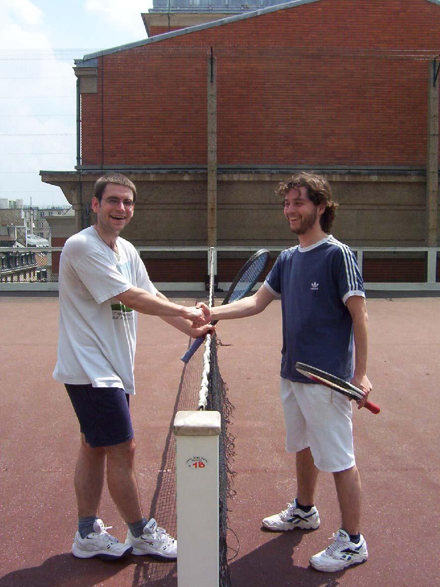 Game, Set, Match! Zach (GER) vs. Benito (SPA)