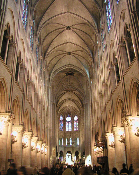 Helped Make Its Architecture The Model For Subsequent Construction In France And Then Beyond Other Words It Defined Early Gothic