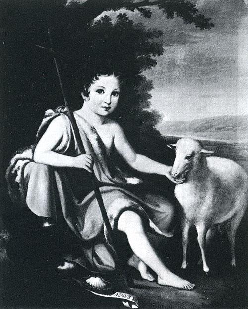 San Giovanni Battista, dalla regina Mary III e II