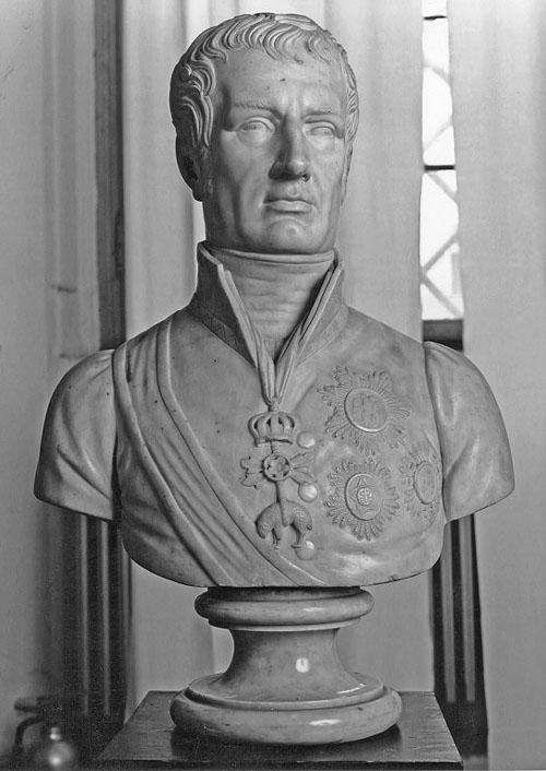 Busto del duca Francesco IV di Modena