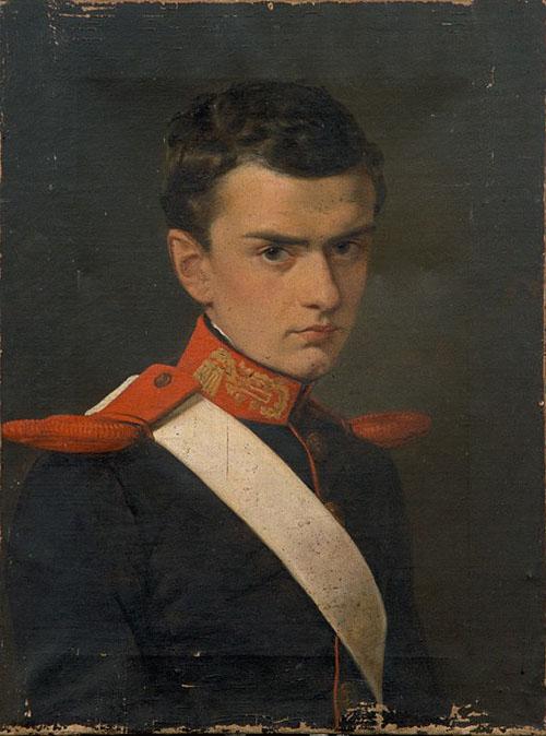 Francesco I da giovane