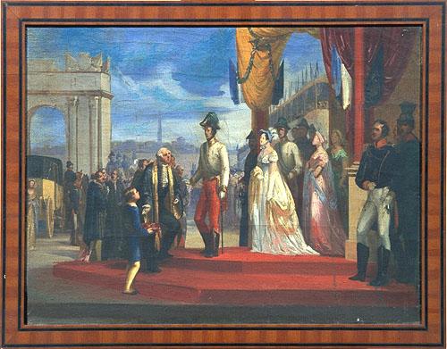 Duca Francesco IV e la Duchessa Maria Beatrice entrano nel Ducato di Modena