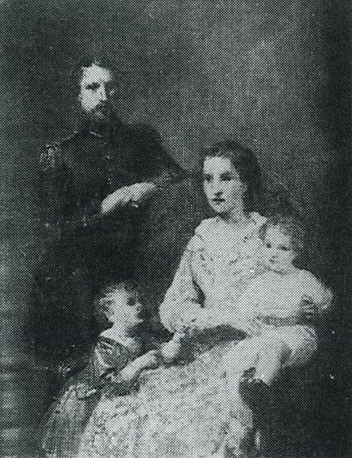 La famiglia della principessa Maria Beatrice