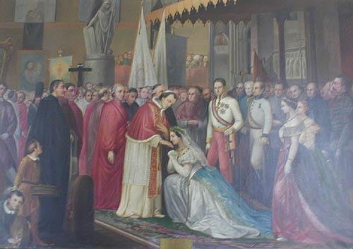 La visita di Pio VII