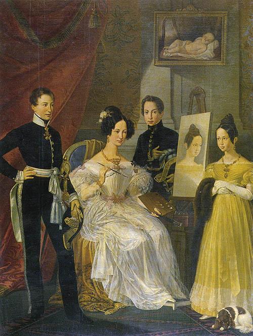 I figli dei Queen Mary II e III