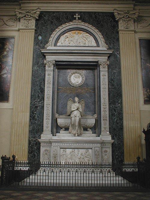 Monumento alla regina Maria III e II