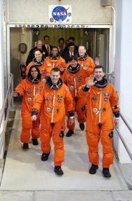 Columbia shuttle astronauts