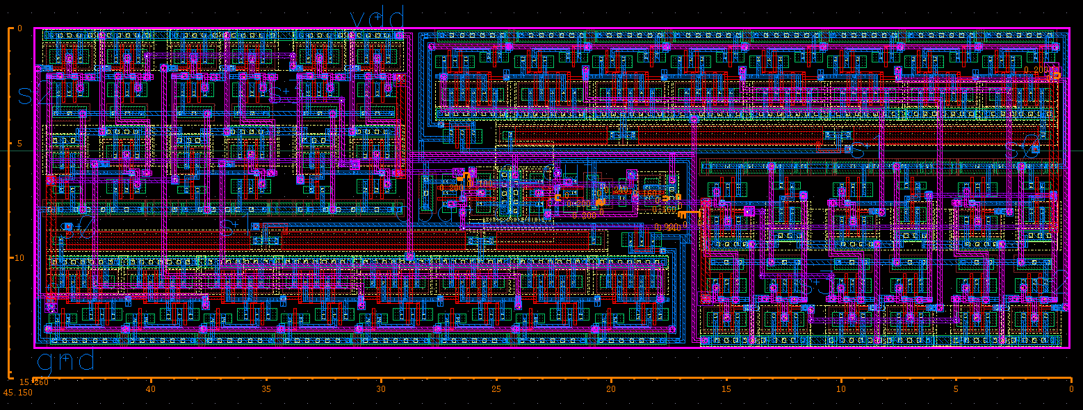 Ece1388 Vlsi Design Methodology Final Project 4 1 Multiplexer Logic Diagram 14 Illustrate The Layout Of Dead Time Generator 41 And Current Starved Delay Generation Circuit