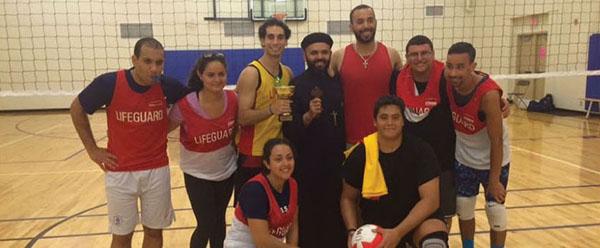 Photo of winning team